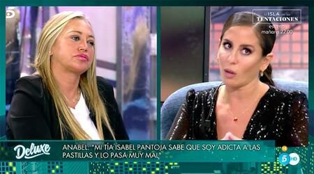 Belén Esteban muy preocupada por Anabel Pantoja y su panto adicción a las pastillas de dormir como sustitutivo nocivo de contar ovejitas