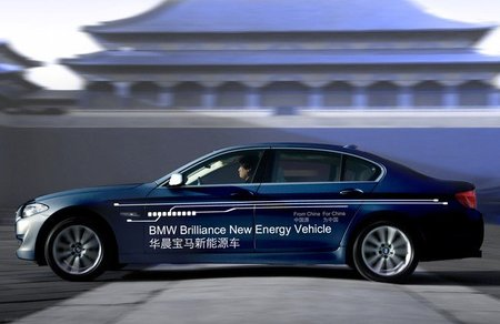 BMW Serie 5 Plug-in Hybrid, por China y para China
