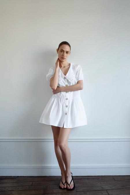 Vestidos Rebajas 2020 Zara Blanco Negro 02