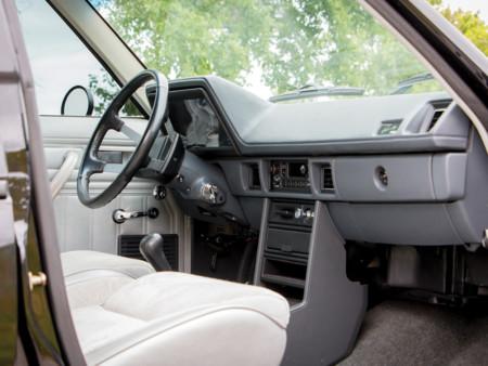 Shelby Dodge Omni GLHS interior