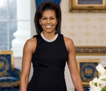 Michelle Obama y sus brazos definidos