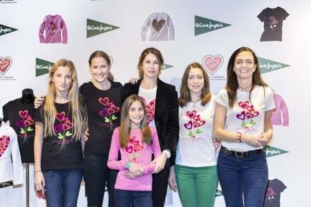 El Corte Inglés vende camisetas solidarias con diseño de Ágatha Ruiz de la Prada y beneficios para la Fundación Menudos Corazones
