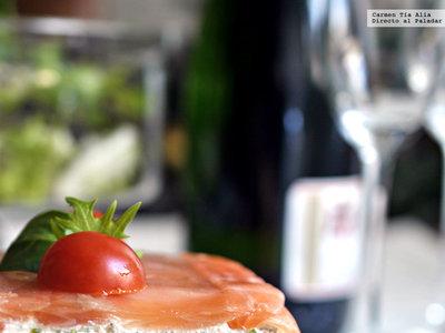 Terrina de salmón y queso al eneldo. Receta para una celebración