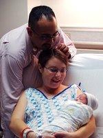 Los primeros días en familia después del parto