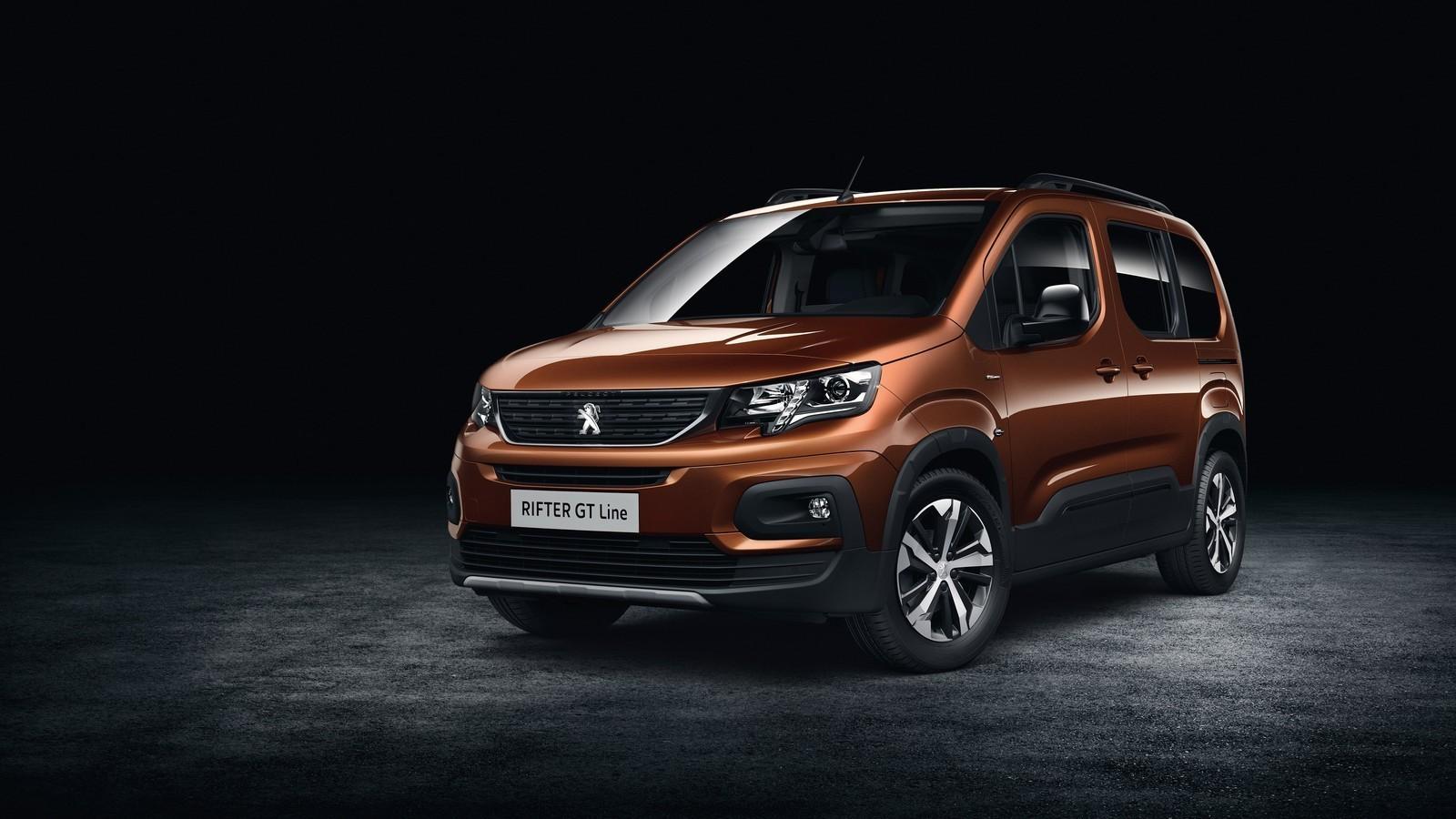 Foto de Peugeot Rifter 2018 (8/16)