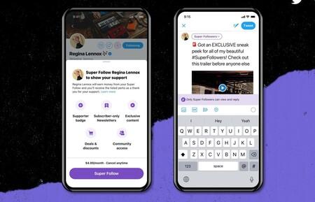 Twitter comienza a probar sus nuevas herramientas de monetización para creadores de contenidos: Super Follows y Ticketed Spaces