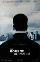 Póster de 'The Bourne Ultimatum'