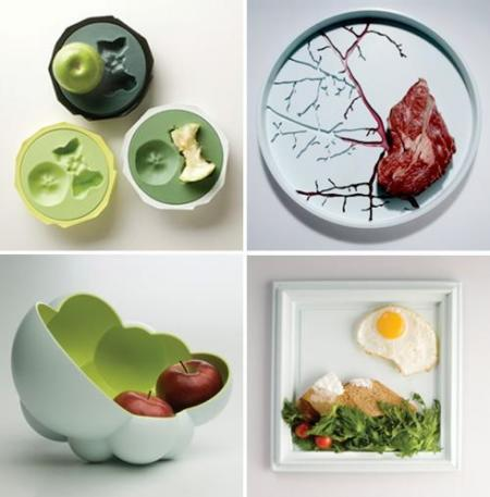 ou Table collection, una vajilla diferente
