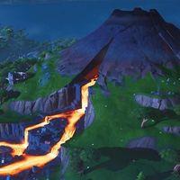 La inminente llegada de la temporada 9 de Fortnite empieza con la erupción del volcán
