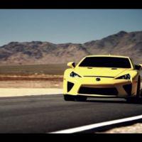 Lexus homenajea al Lexus LFA con un vídeo
