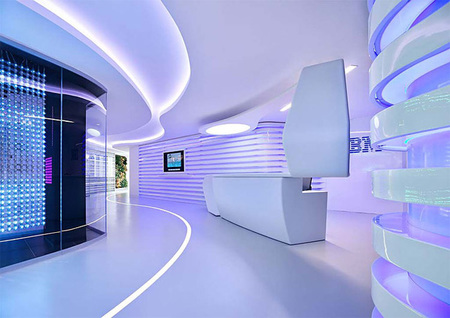 Espacios para trabajar: las oficinas de IBM en Roma