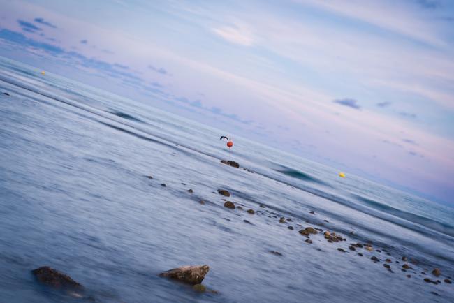 Plano holandés en el mar