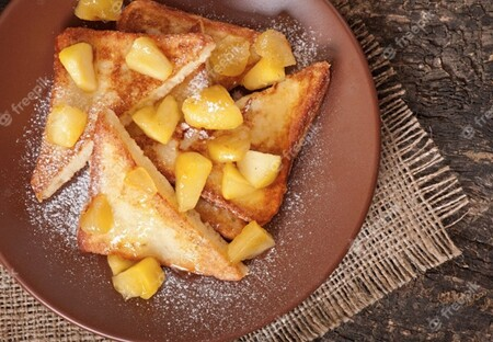 Tiras de pan francés. Receta fácil y rápida para un desayuno delicioso