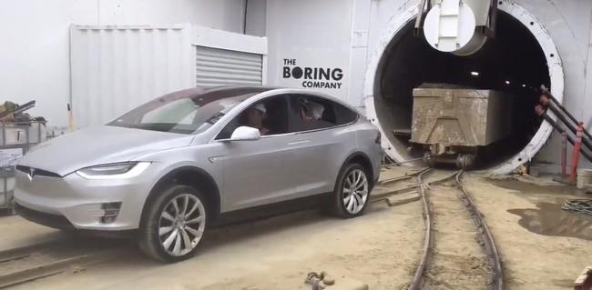 Model X Boring