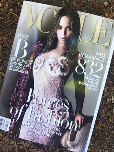 Beyoncé. Vogue US muestra su ansiado September Issue