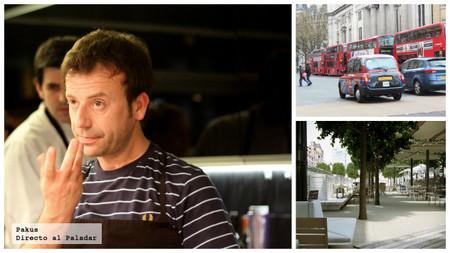 La terraza de Ibérica, tapas y pinchos españoles de Nacho Manzano en Londres