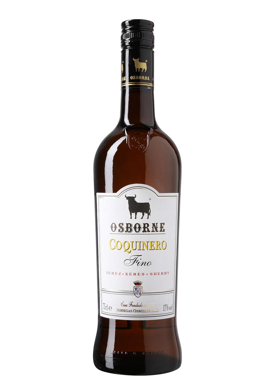 Fino Amontillado Coquinero Osborne. DO Jerez-Xérès-Sherry
