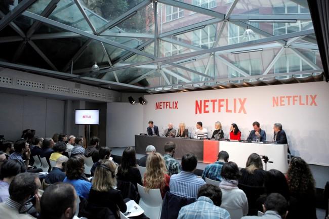 Netflix Press Conference