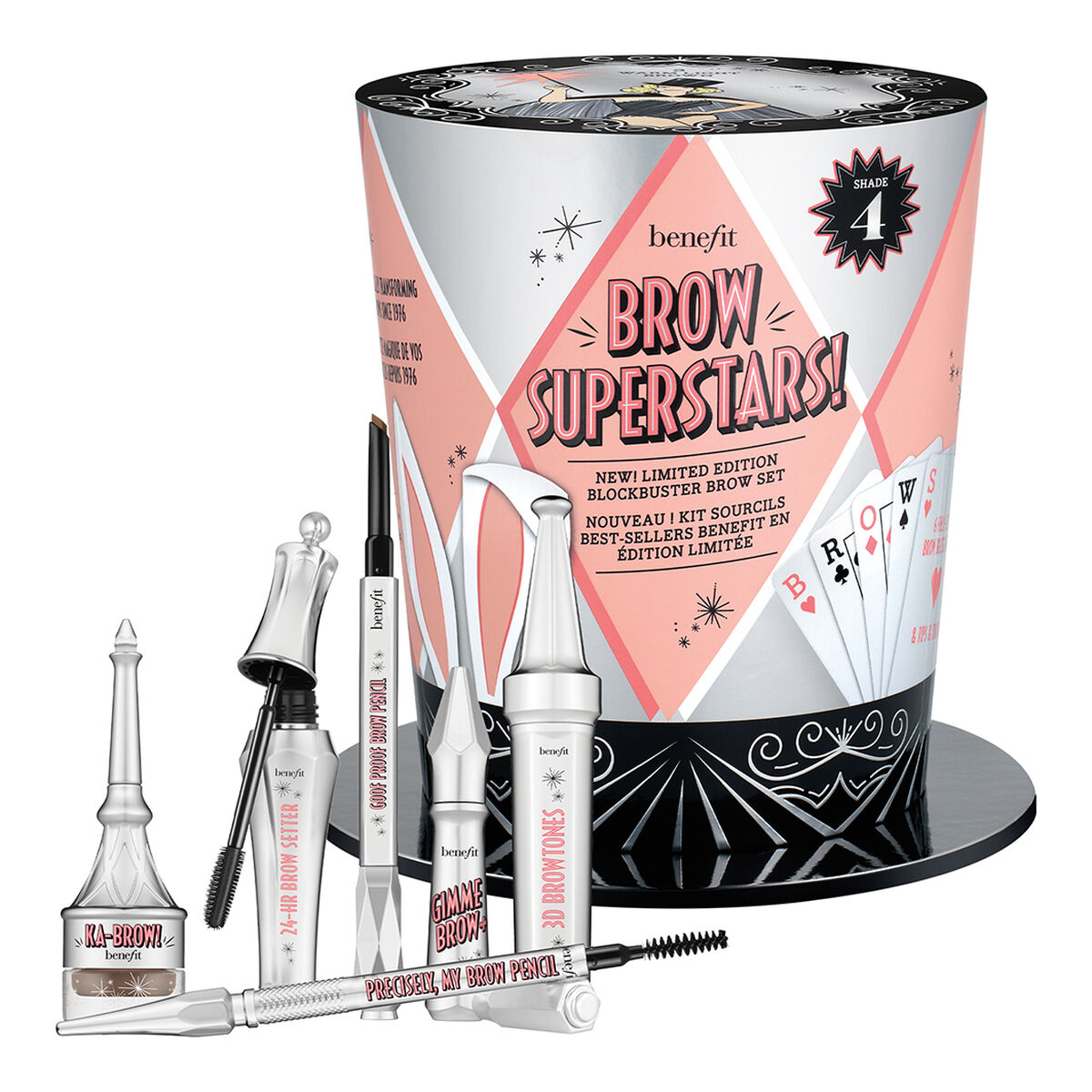 Kit de cejas completo Brow Superstars! de Benefit Cosmetics