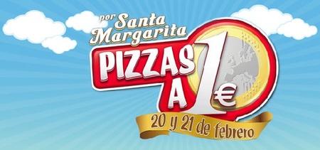 Pizzas a 1 euro hoy y mañana en Telepizza