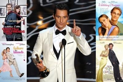 Matthew McConaughey defiende sus comedias románticas