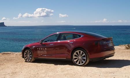 Tesla Model S prueba en Ibiza 14