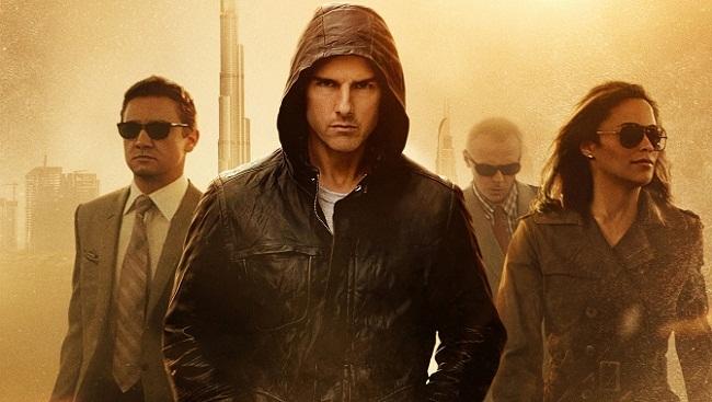 Imagen con el cartel de 'Misión Imposible: Protocolo Fantasma'