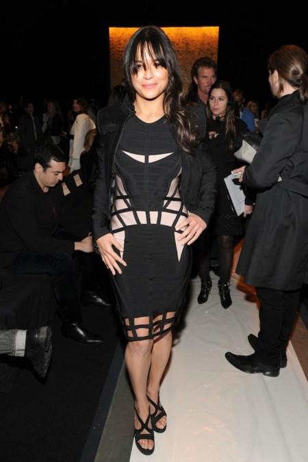Michelle Rodriguez Nyfw 2015