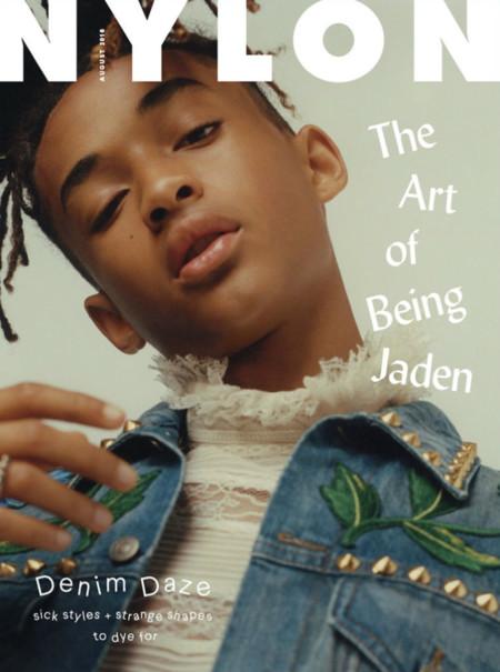 Jaden Smith protagoniza la portada de la revista Nylon con un estilo retro fabuloso