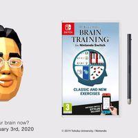 Prepara tu cerebro, porque Brain Training para Nintendo Switch llegará a Europa en enero