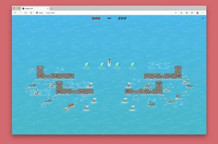 Tras el juego del dinosaurio de Chrome, Microsoft Edge tendrá uno de surf: así puedes probarlo