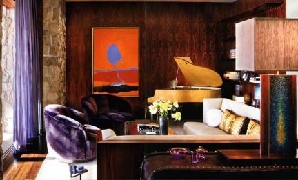 El salón de Jennifer Aniston,
