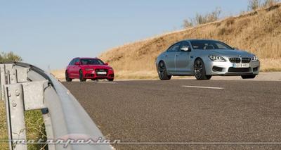 Audi RS 6 Avant contra BMW M6 Gran Coupé, comparativa (parte 3)