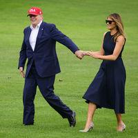 Los outfits clásicos toman una nueva dimensión gracias a Melania Trump y su colección de zapatos Christian Louboutin