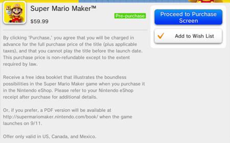 Super Mario Maker Pre Load