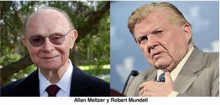 El debate de Robert Mundell y Allan Meltzer sobre el futuro del euro