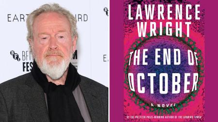 Ridley Scott producirá la adaptación de 'The End of October', la novela de Lawrence Wright sobre una pandemia global
