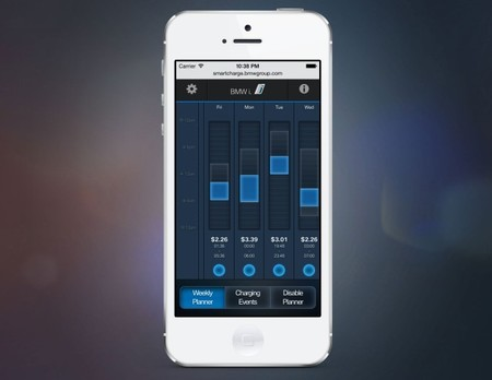 BMW smart charging app
