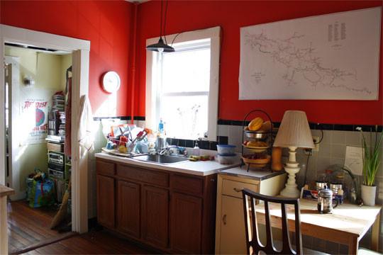 Foto de Una mala idea: una cocina con rincón de lectura (1/6)