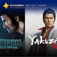 Bulletstorm Full Clip Edition y Yakuza Kiwami entre los juegos de PlayStation Plus de noviembre