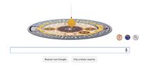 Google homenajea a León Foucault con un doodle animado