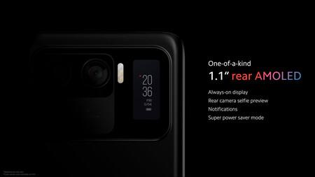 Xiaomi Mi 11 Ultra Oficial Diseno Pantalla Trasera Amoled