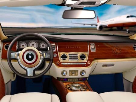 Rolls-Royce Wraith Regatta Interior
