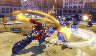 Así luce Transformers: Devastation de PlatinumGames