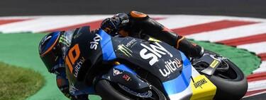 Luca Marini logra su primera pole del año en Misano y puede dejar muy encarrilado el mundial