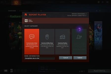 Valve permite evitar a jugadores tóxicos en las partidas de Dota 2