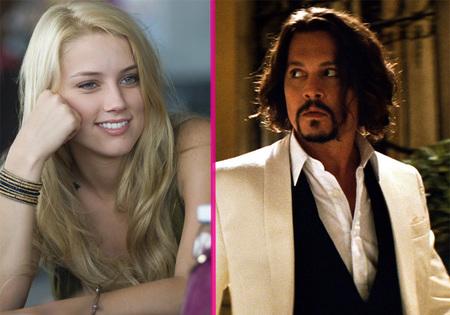 Johnny Depp... ¿y Amber Heard? ¡Esto es llegar y besar el santo!