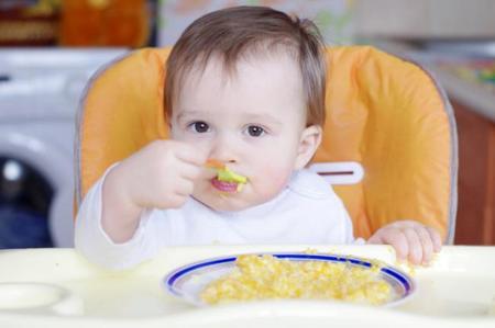 La cena del bebé