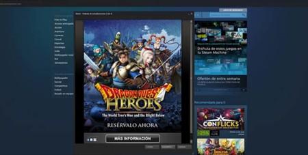 Dragon Quest Heroes llegará a PC por medio de Steam