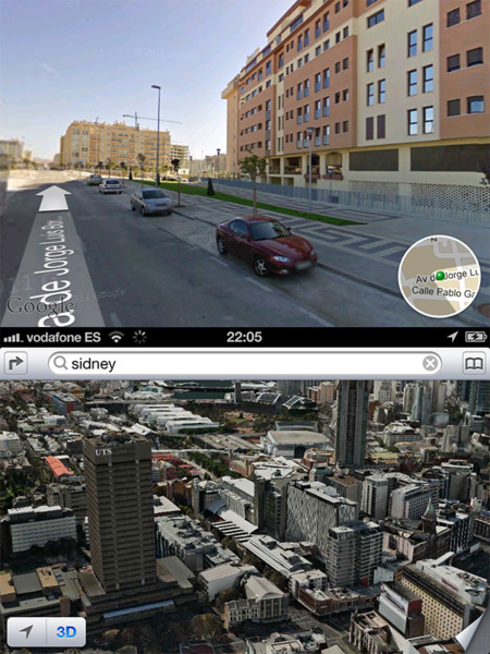 iOS 5 vs. iOS 6, mapas